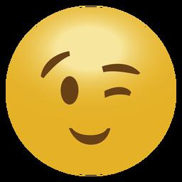 Wink Emoji Emoticon - Emoji, Transparent background PNG HD thumbnail