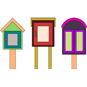Little Libraries - Wmf Library, Transparent background PNG HD thumbnail