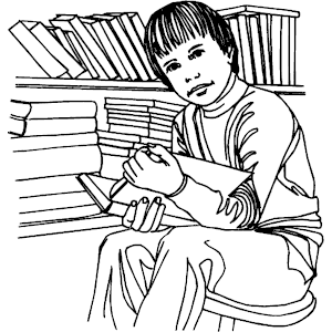 Studying In Library 1 - Wmf Library, Transparent background PNG HD thumbnail