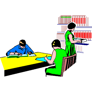 Studying In Library 2 - Wmf Library, Transparent background PNG HD thumbnail