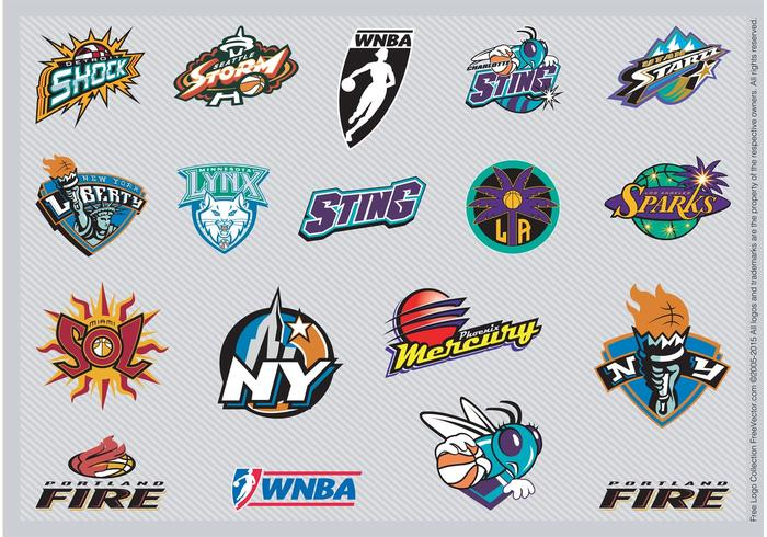 Nba Team Logos 2. - Wnba Vector, Transparent background PNG HD thumbnail