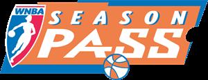 Wnba Season Pass Logo Vector - Wnba Vector, Transparent background PNG HD thumbnail
