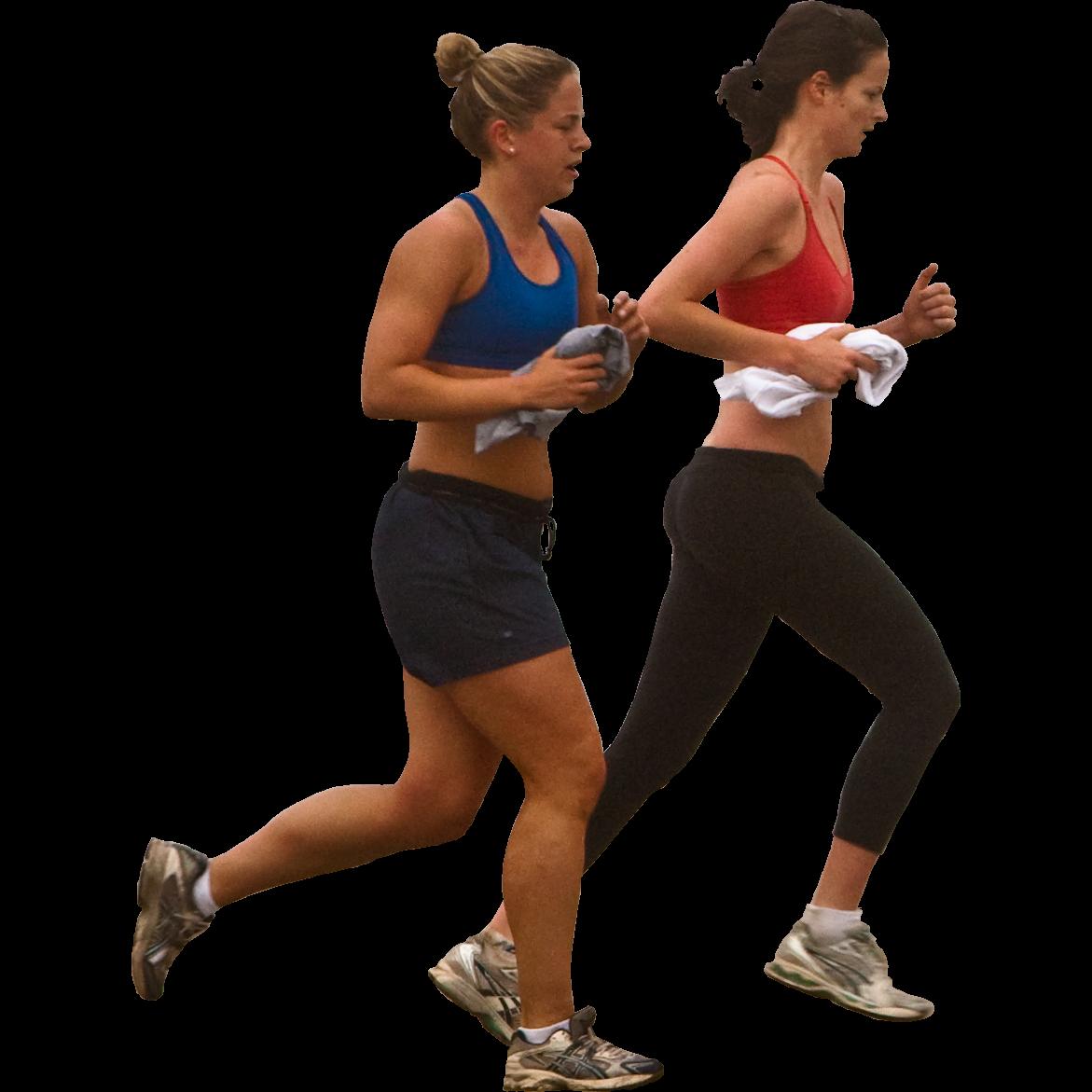Woman Jogging PNG
