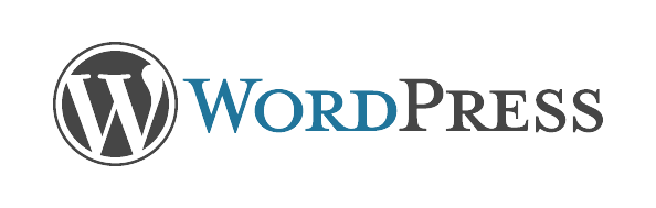 Wordpress. Horizontal Color Logo - Wordpress, Transparent background PNG HD thumbnail