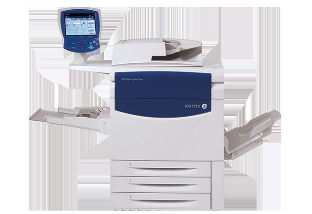 Xerox 700I Dijital Renkli Baskı Sistemi - Xerox, Transparent background PNG HD thumbnail