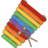 Xylophone Png Png Image - Xylophone, Transparent background PNG HD thumbnail