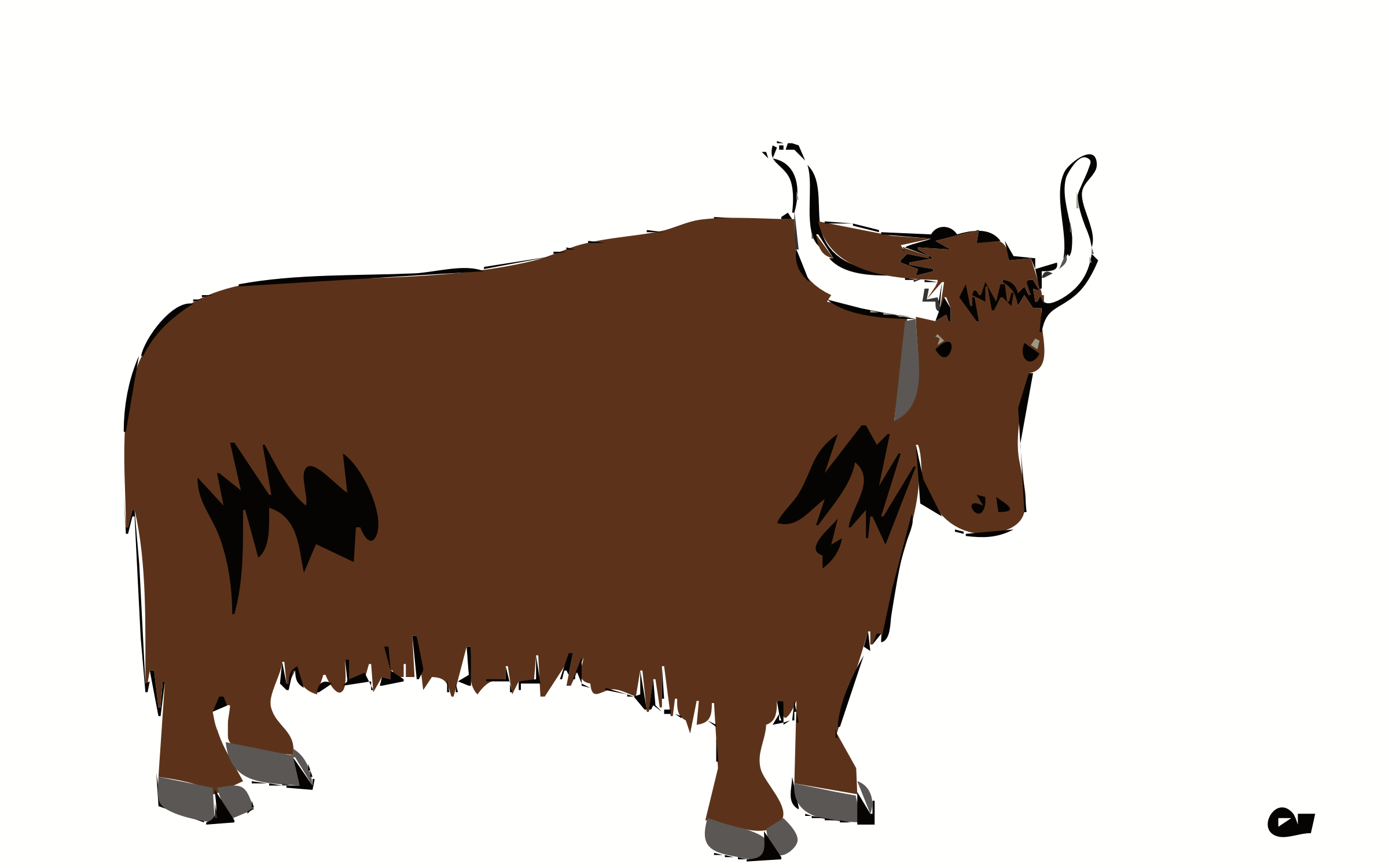 Yak Animal Png - Big Image (Png), Transparent background PNG HD thumbnail
