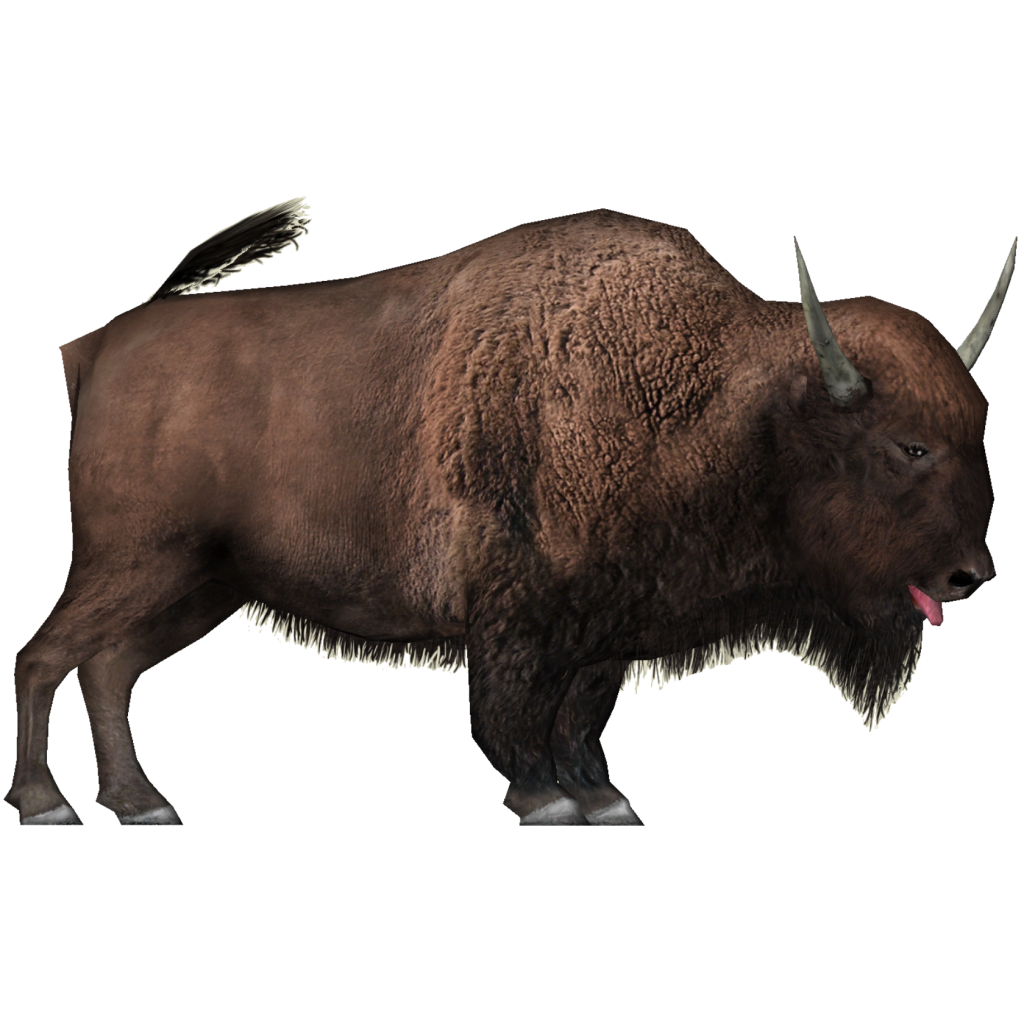 Yak Animal Png - Image   Giant Bison (Wrangler97).png | Zt2 Download Library Wiki | Fandom Powered By Wikia, Transparent background PNG HD thumbnail