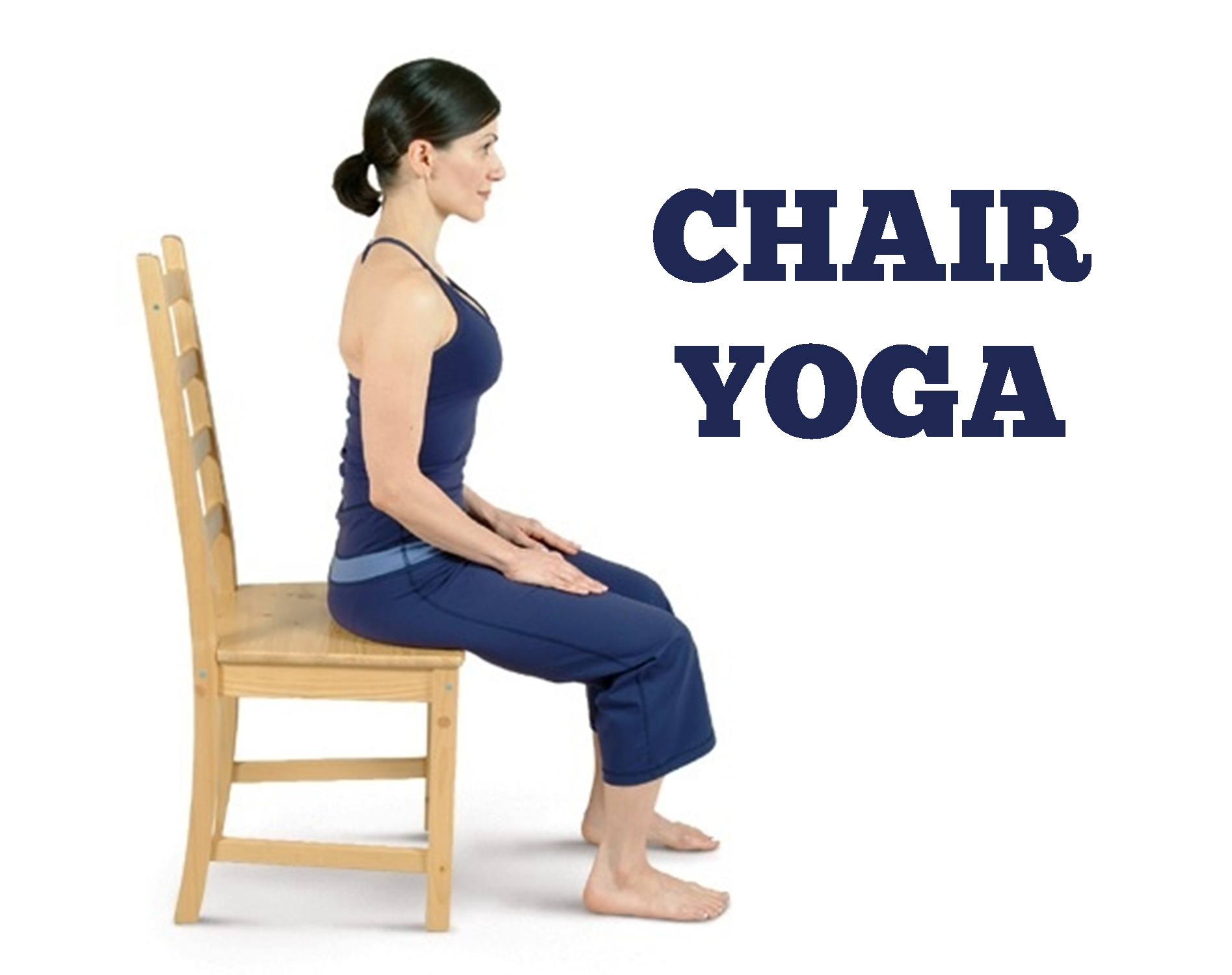 Chair Yoga @ 10:30 - Yoga Breathing, Transparent background PNG HD thumbnail