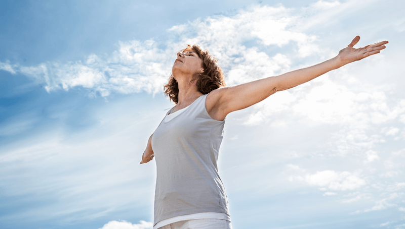 Deep Breathing For A Clear Happier Skin - Yoga Breathing, Transparent background PNG HD thumbnail