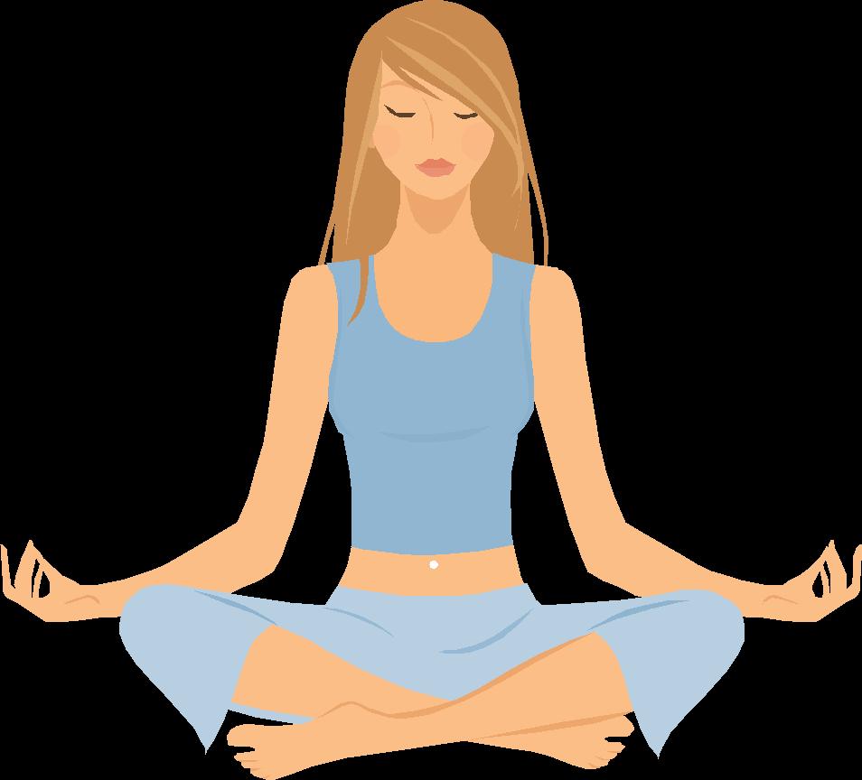 Yoga - Yoga Breathing, Transparent background PNG HD thumbnail
