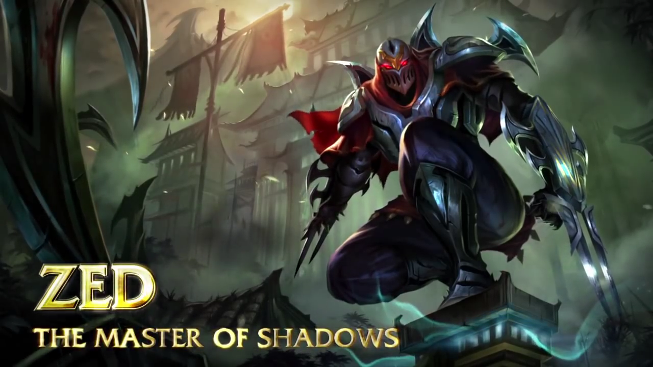 Zed - Zed The Master Of Shadows, Transparent background PNG HD thumbnail