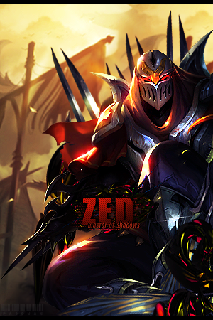 Zed ~ Master Of Shadows By Padowan73 Hdpng.com  - Zed The Master Of Shadows, Transparent background PNG HD thumbnail