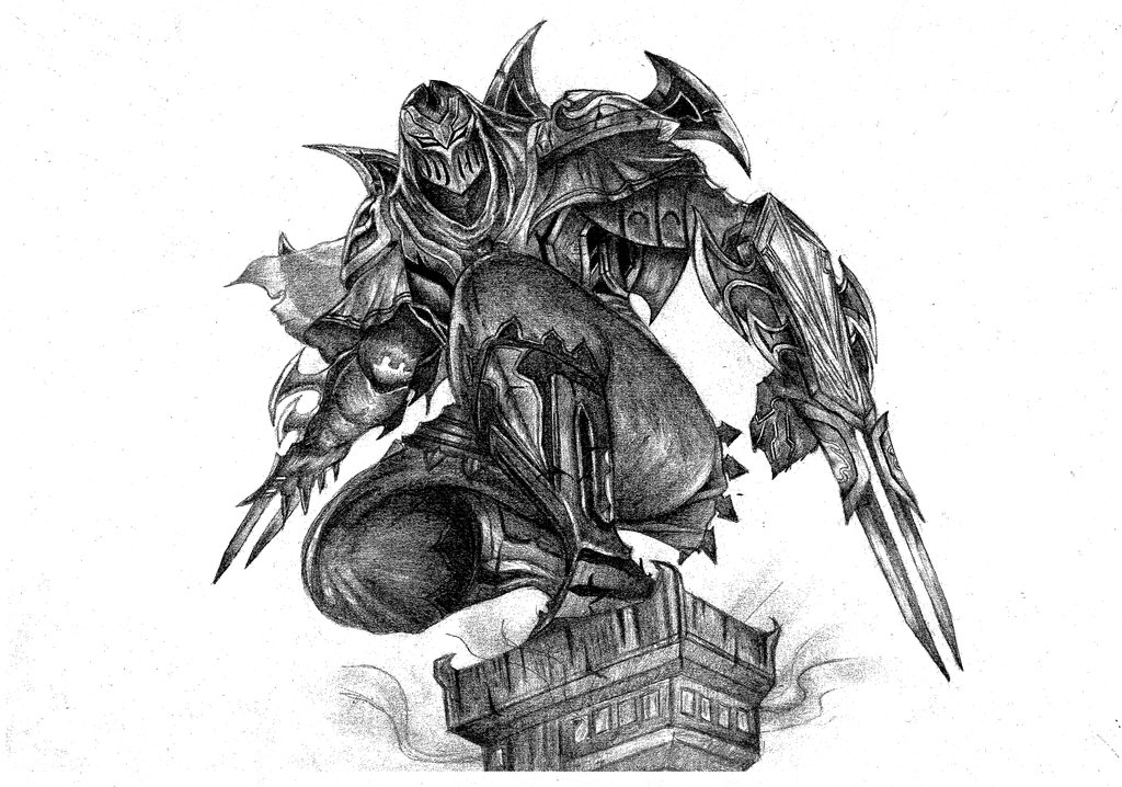 Zed The Master Of Shadows By Imacassie9 Hdpng.com  - Zed The Master Of Shadows, Transparent background PNG HD thumbnail
