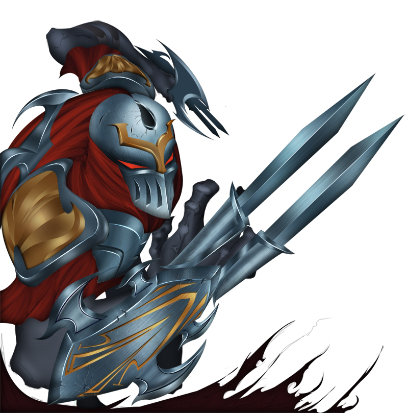 Zed The Master Of Shadows Png - Zed The Master Of Shadows Wip By Benji2D, Transparent background PNG HD thumbnail