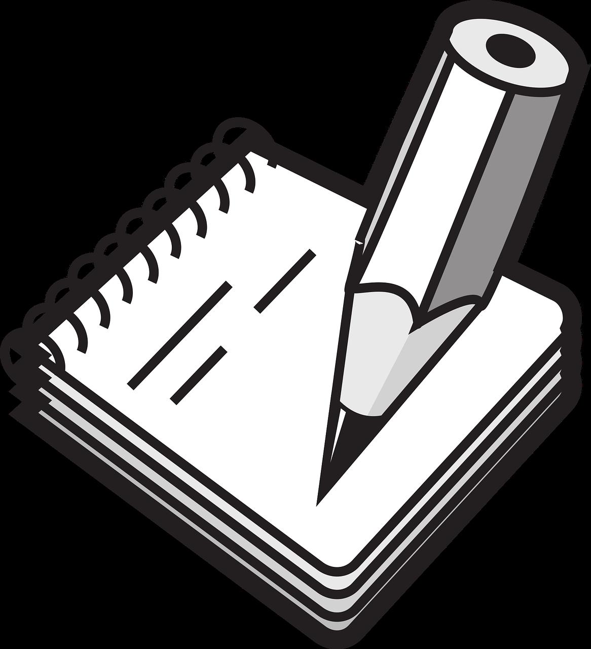 Zettel Und Stift PNG